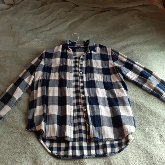 Madewell Top Flannel